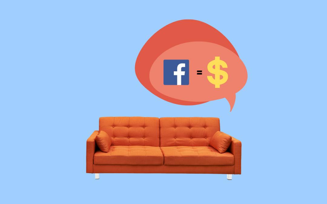 La pubblicità su Facebook per il tuo negozio d'arredo