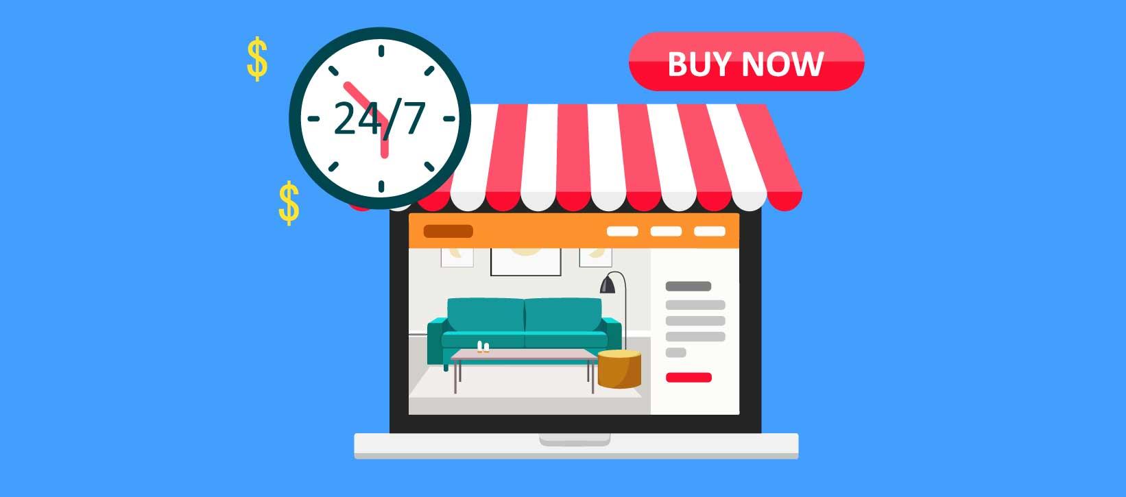 sito web negozio arredamento