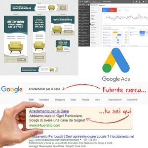 vendere arredamento su Google